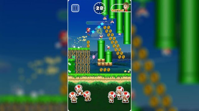 super mario run android download