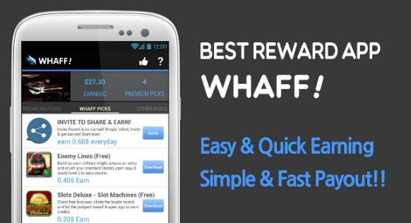 1. Whaff Rewards
