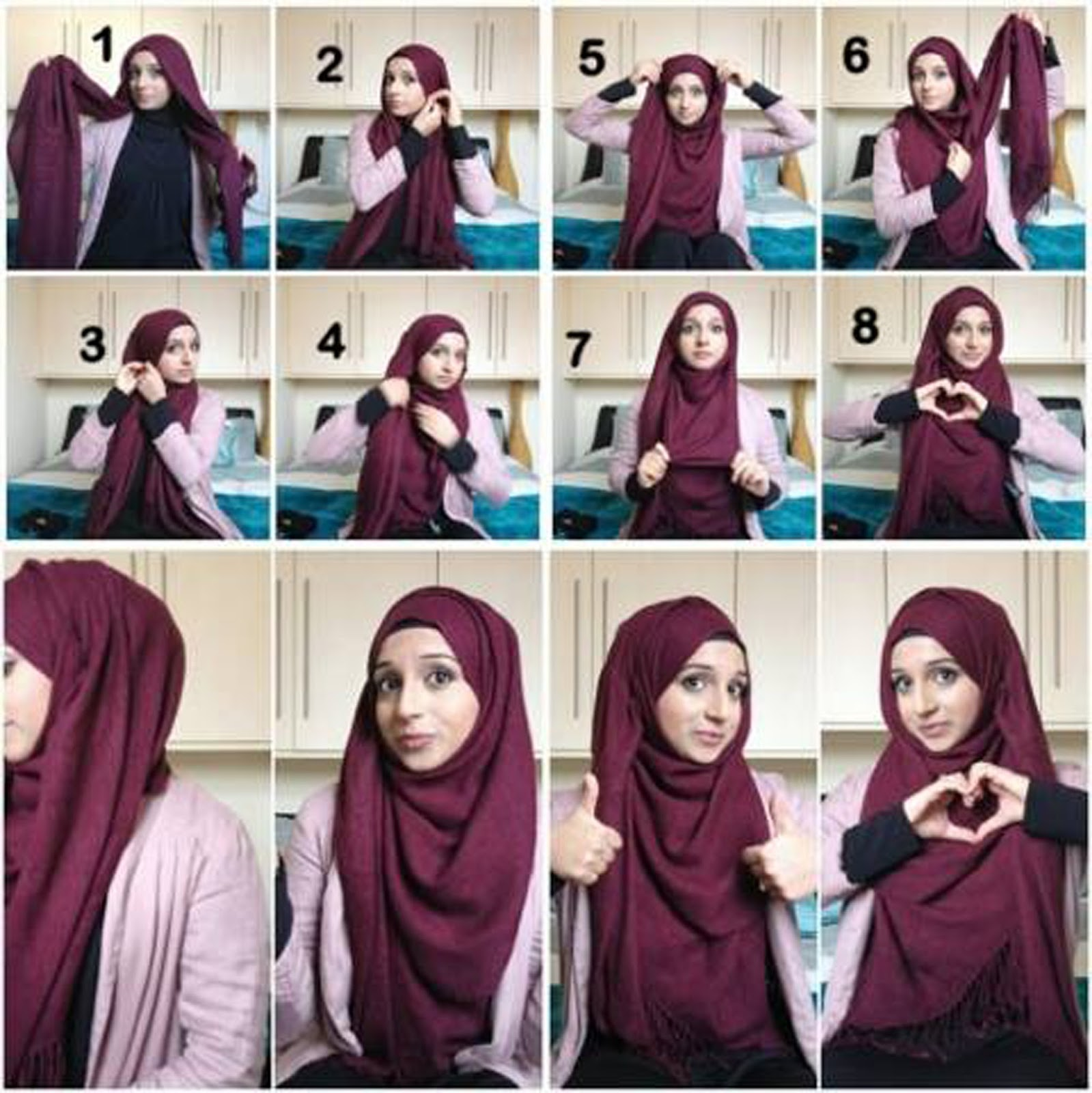How To Wear Scarf Hijab 30 Hijab Styles Step By Step Style Arena