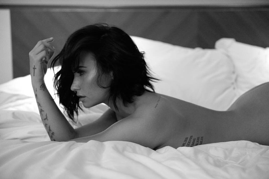 Demi Lovato strips bare for the 'Body Say' photoshoot