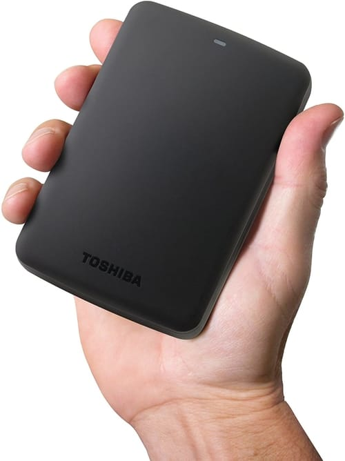 Review Toshiba Canvio Basics 2TB Portable Hard Drive