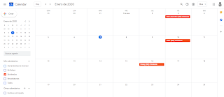 Calendario dividendos 2020