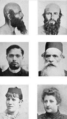Tipi ebraici da Popular Science Monthly 1898.