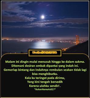quotes gambar malam indah penuh makna