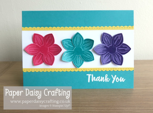 Floral Essence bundle card Stampin' Up!