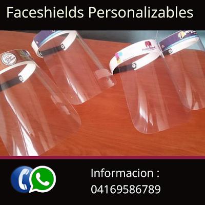 Venta de Faceshields Protectores Faciales contra Coronavirus