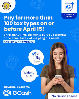 Pay BIR tax GCash