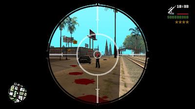GTA San Andreas Auto Aimbot Headshot Mod For Pc