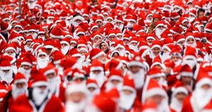 Santa Claus to Run 4 Cancer!