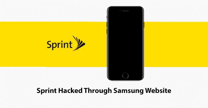 Sprint  - Sprint - Sprint Customer Accounts Hacked Through Samsung Website