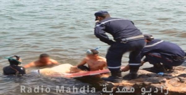 جريمة قتل على متن مركب حرقة : إنتشال جثة في المهدية