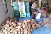 Lomba Kapung Sehat Bidang Ketahanan Pangan Di Desa Bagek Polak Labuapi Kelola Kerajinan Batok Kelapa, Tembus Pasar Luar Negeri