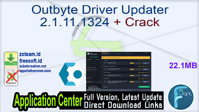 Outbyte Driver Updater 2.1.11.1324 + Crack_ ZcTeam.id