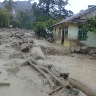 Satu Warga Dilaporkan Hilang Setelah Banjir Bandang Terjang Poso