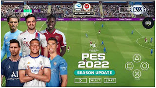 Download Update!! eFootball PES 2022 PPSSPP New Transfer Best Camera PS5 & English Commentary Peter Drury