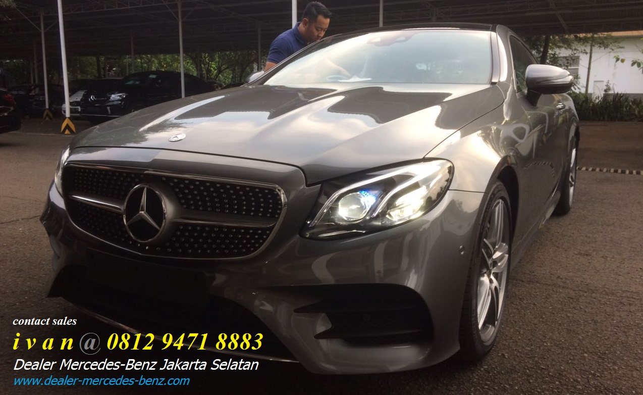 Mercedes benz e43 amg e300 amg coupe 2017 indonesia for Mercedes benz service b coupons 2017