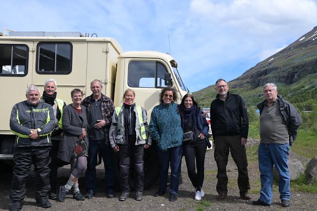 Sven, Otto, Christa, Georg, Irmi, Manu, Petra, Bernd, Ronald