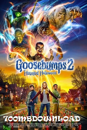 Goosebumps 2 Haunted Halloween 2018 Dual Audio Hindi 300MB HDRip 480p