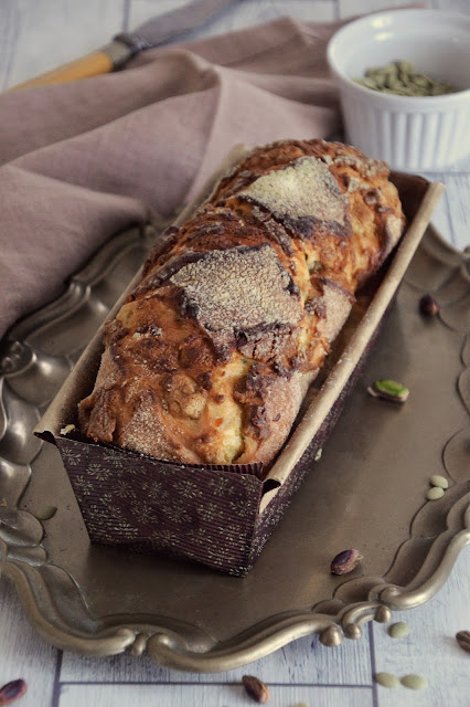 Panfrutto al pistacchio ricetta Nicoletta Palmas