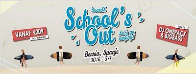 BoardX Schools Out Midsummer Surfcamp Promotion