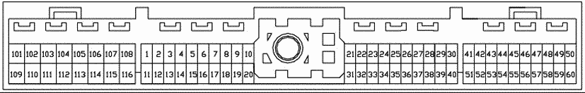 Autodata - Technical Data : Ecu Pinout : 1990 - 1995 Nissan