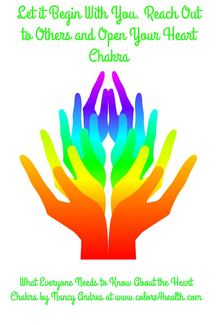 Tips to Open Heart Chakra at Colors 4 Health