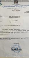 Presidenta de la sala Capitular de Cabral se niega a convocar a los regidores para conocer el Presupuesto Participativo