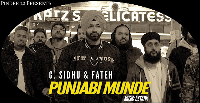 Punjabi Munde Lyrics - G. Sidhu | Fateh