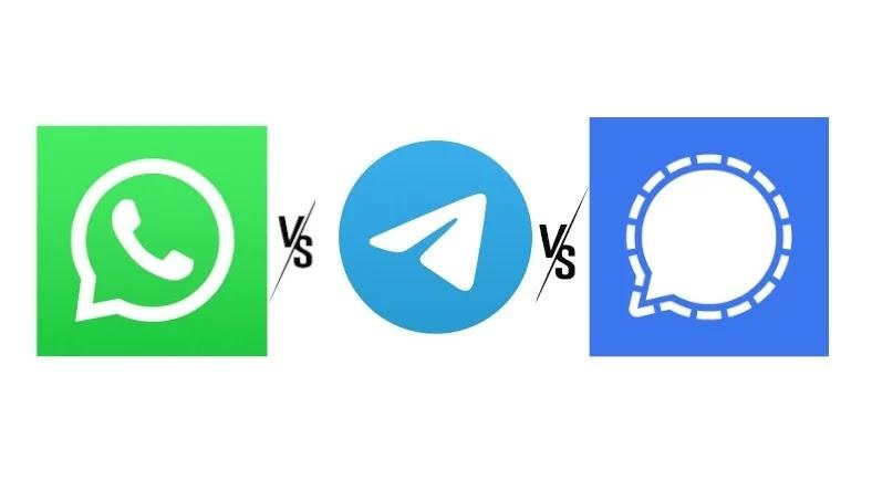 مقارنة شاملة بين WhatsApp و Telegram و Signal: أيهما يجب أن تستخدمه؟
