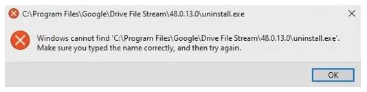 Google Drive default file location