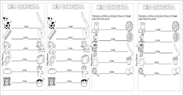 Confira atividades para alfabetização, indicada a alunos do 2º ano do Ensino Fundamental.