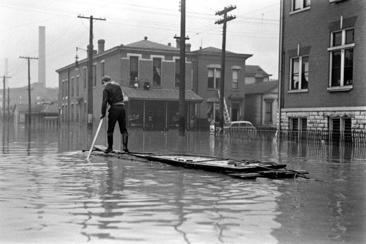 Ohio River Flood Of 1937 Vintage Everyday
