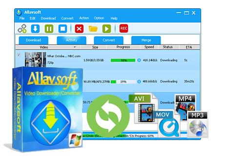 Allavsoft downloader full key