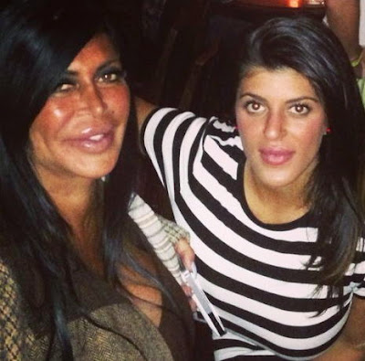 Big Ang's daughter, Racquel Donofrio (of Miami Monkey) allegedly had an affair with Alicia DiMichele's imprisoned husband.
