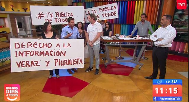 Cacerolazo en TVN: Movimiento social exige una televisión pública pluralista y renuncia del directorio
