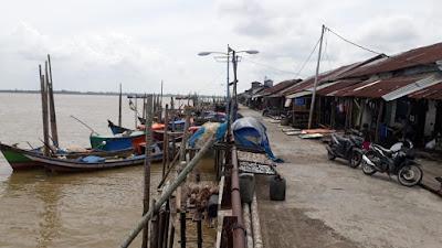 Angin Utara, Nelayan di Tanjabtim Tak Berani Melaut