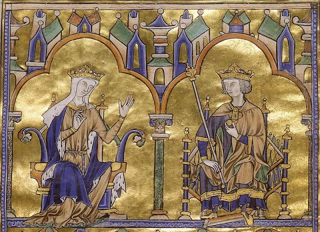règne double de Blanche de Castille Saint Louis
