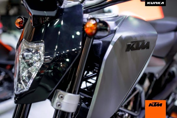 KTM 200 Duke-T Kunka Concept