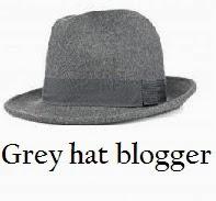 Grey hat blogger