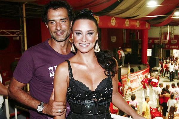 Marcos Pasquim e Suzana Pires estão juntos - foto:  Patricia Teixeira/Ag. Newsl
