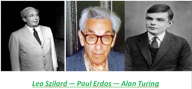 The Journey of Thinking  for Mathematics and Science,Leo Szilard -Paul Erdos -Alan Turing