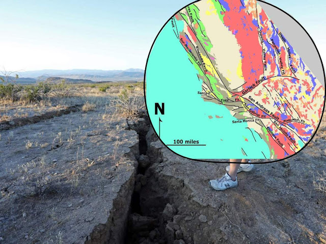 What Caused California's Two Big Earthquakes?