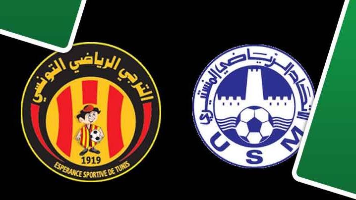 بث مباشر لمباراة الترجي الرياضي التونسي و الإتحاد المنستيري
