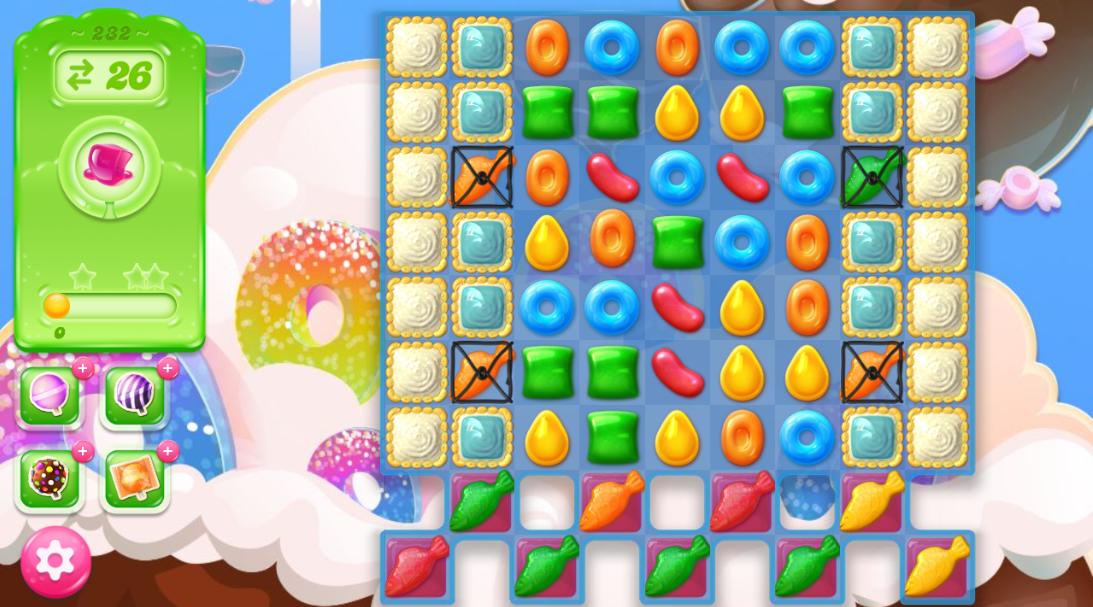 Candy Crush Jelly Saga 232