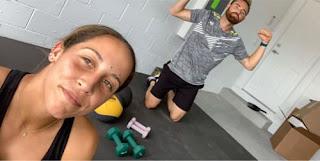 Madison Keys With Her Boyfriend Bjorn Fratangelo During Covid