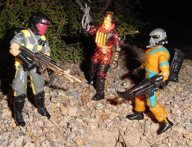 1989 Python Patrol Viper, Frag Viper, 2003 Python patrol Major Bludd