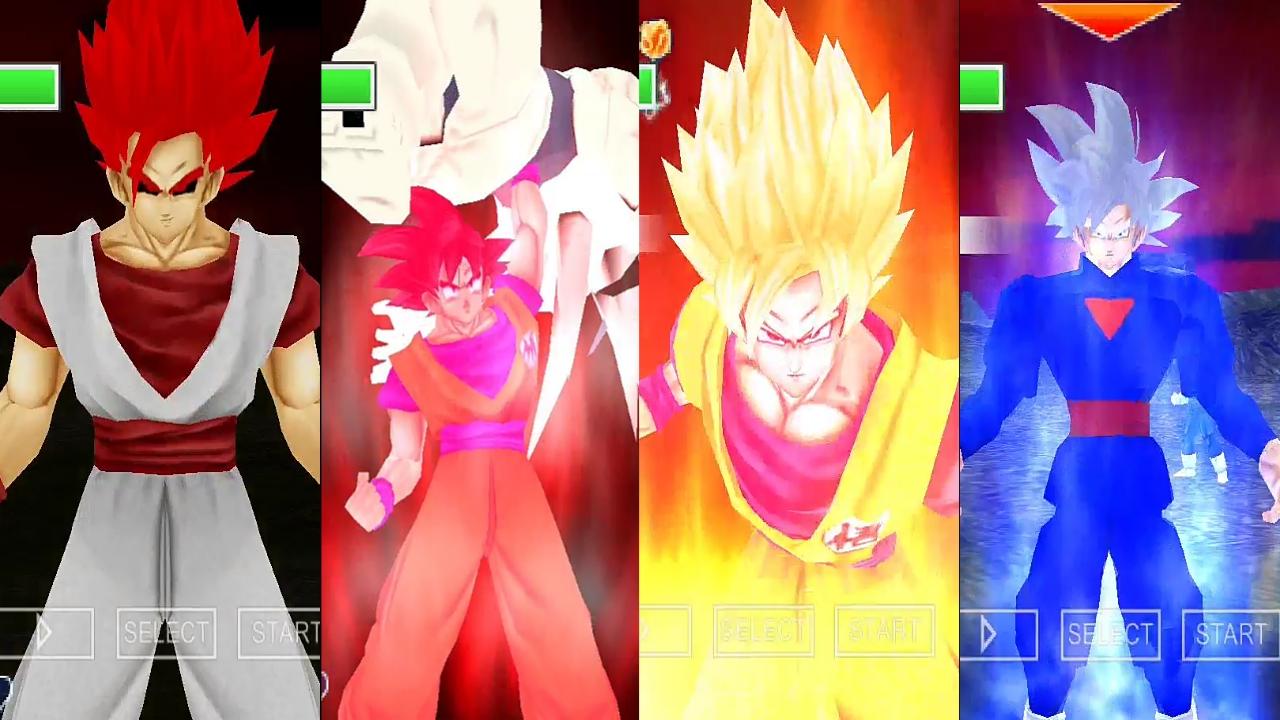 Evil Goku Vs Goku DBZ