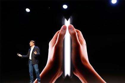 Samsung mengatakan mereka akan memproduksi lebih dari 1 juta ponsel lipat