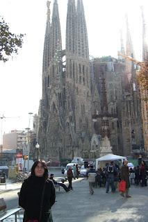 En la Sagrada Familia, Barcelona