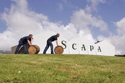 Scapa Distillery Orkney, Scotland.
